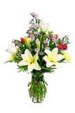 Buntes Blumenanordnungsmittelstück lizenzfreie stockfotografie