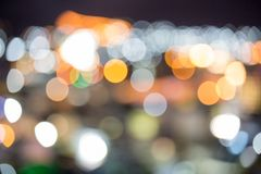 Buntes boke vom Stadtlicht Stockbilder