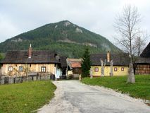 Buntes Dorf Stockfotografie