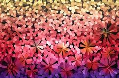 Buntes Fantasiestimmungszusammenfassungs-Bonbon chee des Funkens und des Schlages reizendes Stockbilder