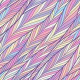 Buntes Fischgrätenmuster-Muster vektor abbildung
