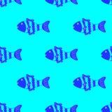 Buntes Fischmuster Lizenzfreie Stockfotografie