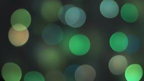 Buntes funkelndes bokeh und Blinklichter lizenzfreie stockfotos