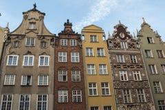Buntes Gdansk Stockfoto