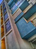 Buntes Gebäude Lizenzfreie Stockfotografie