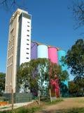 Buntes Gebäude Lizenzfreies Stockfoto