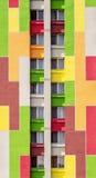 Buntes Gebäudedetail Stockbilder