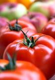 Buntes Gemüse und Frucht Stockfoto