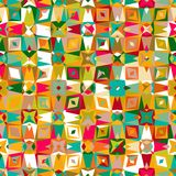 Buntes geometrisches Muster Lizenzfreie Stockfotos