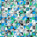 Buntes geometrisches Muster Stockfoto