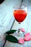 Buntes Getränk in einem Becher Stockfotos