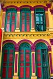 Buntes historisches Gebäude Lizenzfreies Stockbild