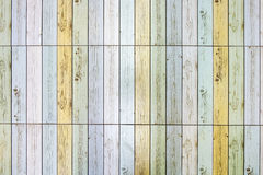 Buntes Holz gemasert Stockfotos