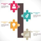 Buntes Infographics Lizenzfreies Stockfoto