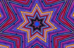 Buntes Kaleidoskop stockfotos