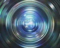 Buntes Kameraobjektiv Stockfotos