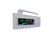 buntes kardiovaskuläres bewegliches Überwachungsgerät, Doppler lizenzfreie stockfotos
