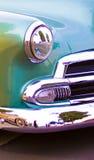 Buntes klassisches Auto Lizenzfreies Stockfoto