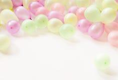 Buntes kleines Baloons Lizenzfreie Stockbilder