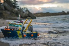 Buntes lego Plastikbauspielwaren Stockfotografie