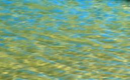 Buntes Licht denken über das Wasser nach Lizenzfreies Stockbild