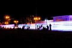 Buntes Licht in Yogyakarta Lizenzfreies Stockbild