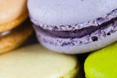 Buntes Macarons Stockfotos