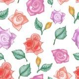 Buntes mit Blumenmuster Lizenzfreies Stockbild