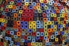 Buntes Mosaik Stockfoto