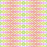 Buntes Muster - abstrakte Blumen Stockfotografie