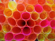 buntes Muster das Plastikverpackungsbuch lizenzfreies stockfoto
