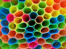 buntes Muster das Plastikverpackungsbuch lizenzfreie stockfotos