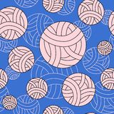 Buntes Muster mit abstrakten Bällen Lizenzfreie Stockfotografie