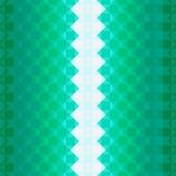 Buntes Muster mit grünen Quadraten Stockfotos