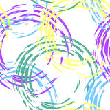 Buntes Muster mit Kreisen Lizenzfreies Stockfoto