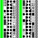 Buntes mutiges helles nahtloses Muster Stockfotografie