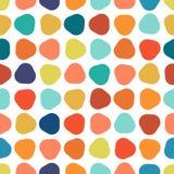 Buntes nahtloses geometrisches Muster Stockbilder