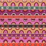 Buntes nahtloses geometrisches Muster vektor abbildung