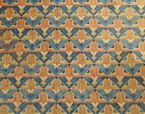 Buntes orientalisches Teppichmuster - Hintergrund Stockfotografie