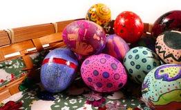 Buntes Ostern Paschal Eggs Celebration Stockbild