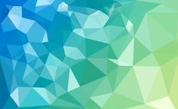 Buntes Polygon Stockfoto