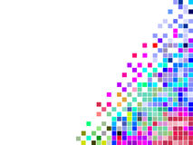 Buntes quadratisches Mosaik Lizenzfreies Stockbild