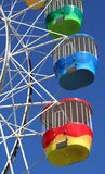Buntes Riesenrad Stockfotografie