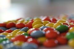 Buntes Süßigkeitmakro Lizenzfreies Stockbild