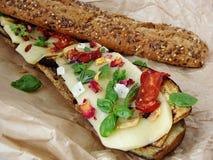 Buntes Sandwich Lizenzfreie Stockfotografie