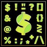 Buntes stilisiertes Symboldesign des Emailmosaiks jewerly Stockfoto
