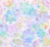 Pastellblumenhintergrund   Lizenzfreies Stockbild