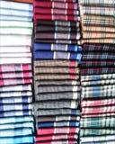 Buntes Taschentuch in der Linie Stockbilder