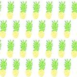 Buntes tropisches Wassermelonenmuster Lizenzfreie Stockfotos
