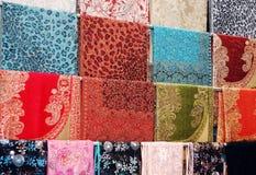 Buntes Tuch Stockbilder